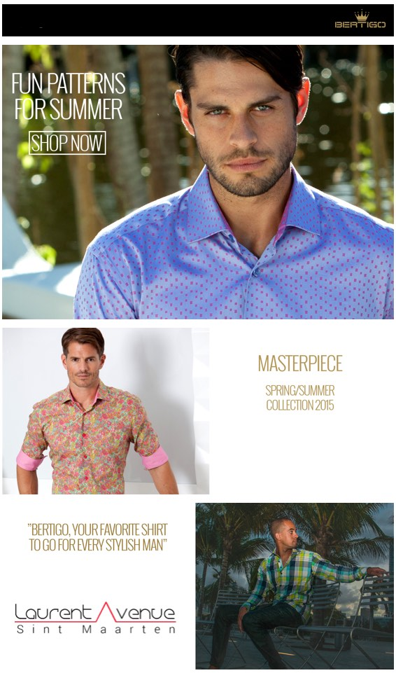 BERTIGO Mens Fashion